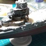 1/700 日本海軍高速戦艦榛名 艦橋part3