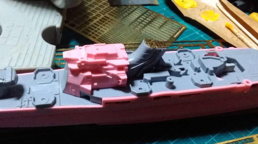 1/700 蒼き鋼のアルペジオ 重巡洋艦マヤ part2