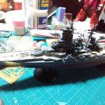 1/700 日本海軍高速戦艦榛名 小物関連