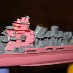 1/700 蒼き鋼のアルペジオ 重巡洋艦マヤ part4